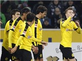 M'Gladbach 1-3 Dortmund: Reus, Mkhitaryan tỏa sáng, Dortmund tiếp tục bám đuổi Bayern