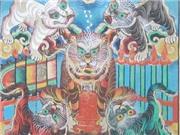 Các dòng tranh dân gian trứ danh hội tụ đón Xuân ở phố cổ Hà Nội