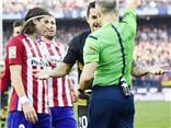 Cộng đồng mạng: 'Với cú đạp vào Messi, Felipe Luis xứng đáng bị treo giò 10 tuần'