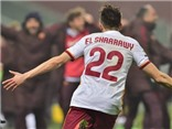 VIDEO Sassuolo 0-2 Roma: El Shaarawy nổ súng trận thứ hai liên tiếp