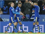 Leicester 2-0 Liverpool: Klopp cay đắng thừa nhận Vardy là sự khác biệt