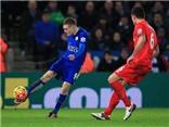 Thưởng thức cú vô lê thần sầu của Jamie Vardy vào lưới Liverpool