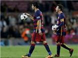 Barca 7-0 Valencia: Suarez lập poker, Messi ghi hat-trick. Barca hủy diệt Valencia