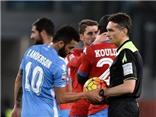 Trận Lazio-Napoli phải tạm dừng vì phân biệt chủng tộc