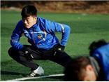 Xuân Trường tập ngay sau khi gia nhập Incheon United