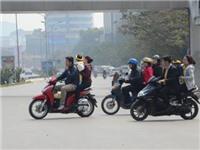 Hà Nội: Tết là dịp để vi phạm luật giao thông?!