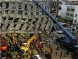 SỐC: Tòa nhà cao nhất sụp đổ trong động đất ở Đài Loan được xây bằng lon đồ hộp