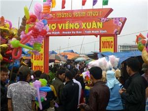 Video du lịch: Đầu Xuân đi chợ Viềng cầu may