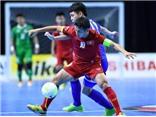 Tuyển futsal Việt Nam không ngại Tajikistan