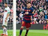 Sau 5 Quả bóng Vàng, Leo Messi lần đầu tiên nhận giải 'Cầu thủ xuất sắc nhất tháng'