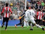 Real Madrid 4-2 Bilbao: Ronaldo lập cú đúp, Varane bị đuổi, Real kém Barca 1 điểm