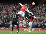 Arsenal 2-1 Leicester: Welbeck ghi bàn giúp Arsenal giành chiến thắng