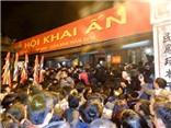 Hàng vạn người đổ về lễ khai ấn đền Trần 2016