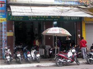 Ăn bánh đa và bún cá Thái Bình ở quán nào là ngon nhất?