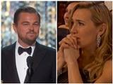 'Nàng Rose' bật khóc khi 'chàng Jack' Leonardo DiCaprio nhận Oscar