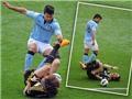 David Luiz đòi Sergio Aguero xin lỗi