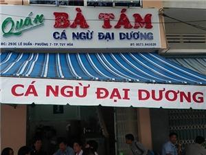 Ăn món 'đèn pha' ngon hết biết ở 'thủ đô cá ngừ' của Việt Nam
