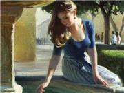 Ngắm những bức sơn dầu gợi cảm của danh họa Volegov