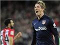 Bilbao 0-1 Atletico Madrid: Giờ thì không thể cản Torres ghi bàn