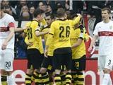 Stuttgart 0-3 Dortmund:  Chiến thắng để bám đuổi Bayern đến cùng
