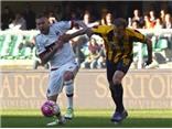 Verona 2-1 Milan: Thua cả đội xuống hạng, Milan thay tướng vẫn 'mạt vận'