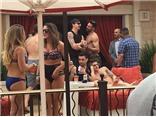 Ibrahimovic, Pastore, Verratti sang Las Vegas tiệc tùng cùng dàn chân dài bikini