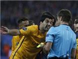 Trọng tài hối hận vì không cho Barca hưởng penalty ở trận gặp Atletico
