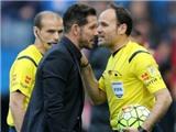 HLV Diego Simeone của Atletico bị cấm chỉ đạo 3 trận