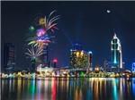 Tối nay, thời tiết lý tưởng cho pháo hoa ở TP.HCM, festival tại Huế và Carnaval tại Hạ Long Long