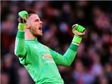 De Gea tiếp tục nhận giải Cầu thủ xuất sắc nhất tháng của Man United