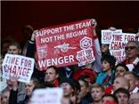 Đa số CĐV Arsenal vẫn ủng hộ Arsene Wenger ở lại