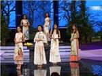 Hà Anh: Thí sinh Hoa khôi diễn áo dài gợi cảm nhưng… thiếu duyên