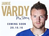 Jamie Vardy phát hành tự truyện