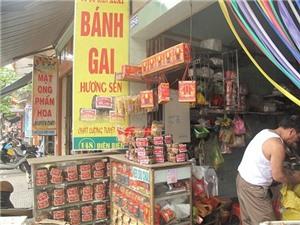 Quán tốt – Món ngon: Về Nam Định ăn bánh gai Bà Thi