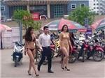 Hà Nội sẽ xử phạt vụ 'mặc bikini tiếp thị sản phẩm'