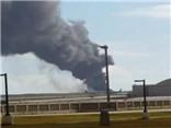 VIDEO: Hiện trường 'pháo đài bay' B-52 của Mỹ gặp nạn ở Guam