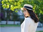 Hoa hậu Hà Kiều Anh: 'Uống xong ly nước đá lại cười được ngay'