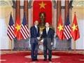Chủ tịch nước Trần Đại Quang hội đàm với Tổng thống Obama
