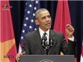 TRỰC TIẾP Tổng thống Obama diễn thuyết: Sự thân thiện của người Việt Nam đã chạm đến trái tim của tôi