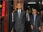 Chùm ảnh: Những khoảnh khắc ấn tượng của Tổng thống Obama ở TP.HCM