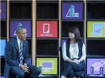 CHÙM ẢNH: Tổng thống Obama giao lưu với doanh nhân trẻ TP HCM