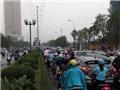 Hà Nội giải tỏa các điểm ùn ứ giao thông sau mưa lớn