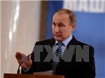 Ông Putin tuyên bố: EU cần Nga để có tầm ảnh hưởng toàn cầu