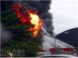 CHÙM ẢNH: Đám cháy kinh hoàng tại công ty nệm Vạn Thành, TP.HCM