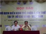 Giải điền kinh trẻ vô địch châu Á 2016: 'Thuốc thử hạng nặng' cho điền kinh Việt Nam