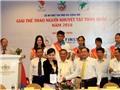 Hơn 1000 VĐV dự giải trẻ và vô địch thể thao người khuyết tật toàn quốc 2016