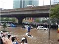 Đề phòng mưa dông, ngập lụt nội thành Hà Nội