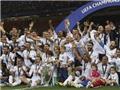 Các danh thủ bóng đá chúc mừng Real Madrid vô địch Champions League