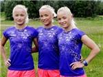 Ba chị em sinh ba sắp đi vào lịch sử Olympic