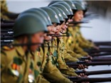 Những khoảnh khắc độc, lạ của quân đội Triều Tiên